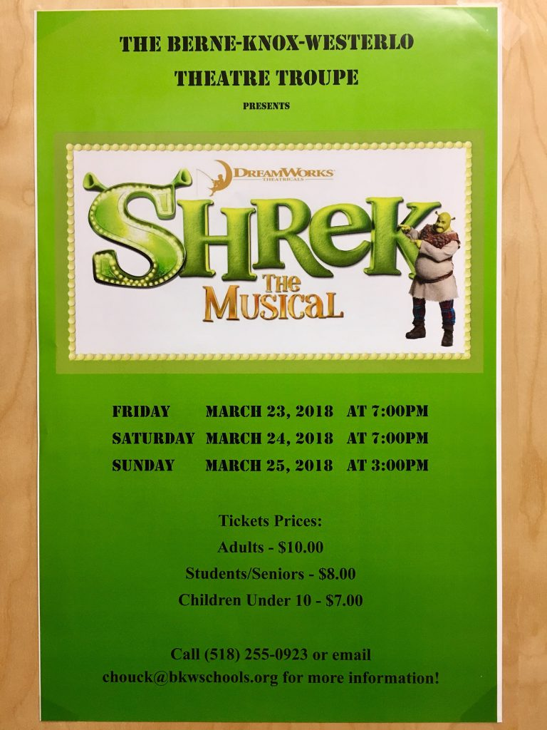 Post for Shrek: The Musical