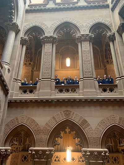 FFA students in the NYS Capitol