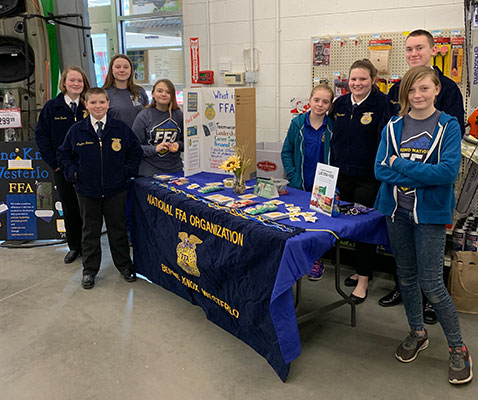 FFA members at a past event